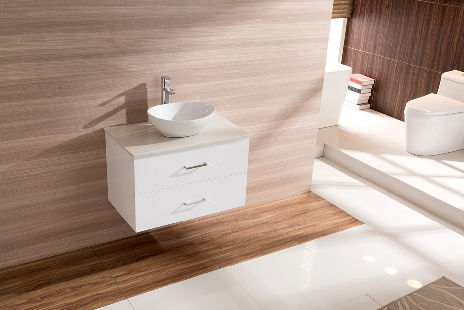 Basin cabinets cape town graysonline for Bathroom cabinets cape town