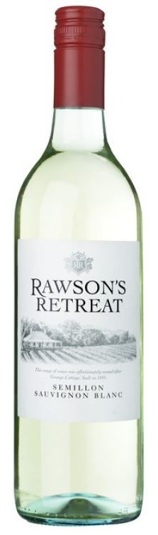 Rawsons Retreat Semillon Sauvignon Blanc 2017 (6 x 750mL), SE AUS.