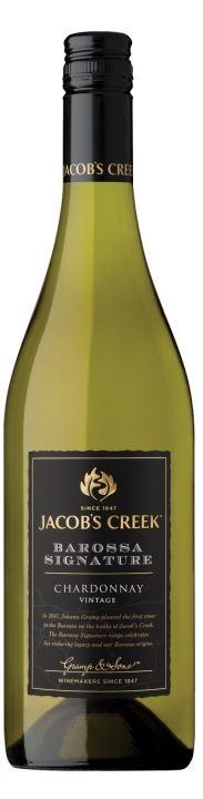 Jacob's Creek `Barossa Signature' Chardonnay 2018 (6 x 750mL), SA.