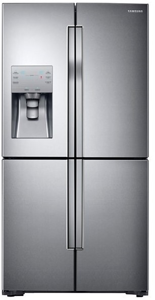 Samsung 719L French Door Refrigerator (Steel) (SRF719DLS)