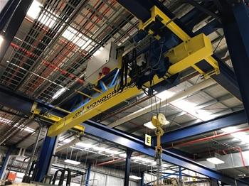 Overhead Single Girder Travelling Crane