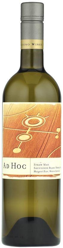 Ad Hoc `Strawman` Sauvignon Blanc Semillon 2017 (12x750mL), Margaret River