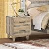 Rustic Look Bedside - Wood Nature