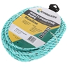 2 x KINNEARS 10mm x 20M Multi-Purpose 3-Strand P/P Rope Hanks with Velcro H