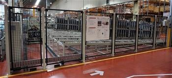 2012 Custom Built 10 Lane Automatic Stillage Handling System