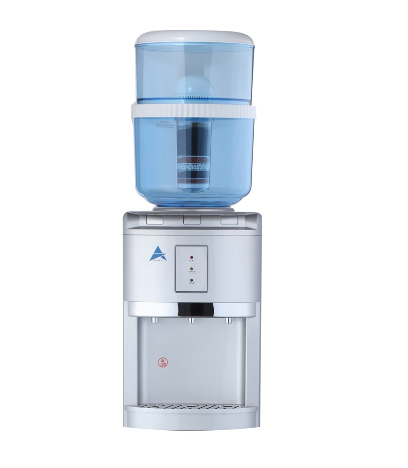 Aimex Silver Bench Top Water Cooler Dispenser