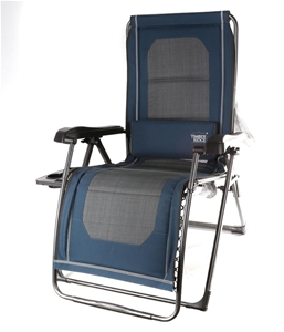 Timber Ridge Folding Lounge Chair With Side Table 246059 101