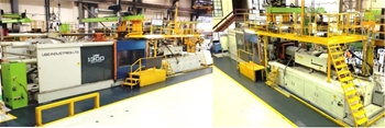 1300 Tonne Injection Moulding Machine