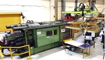 1200 Tonne Injection Moulding Machine