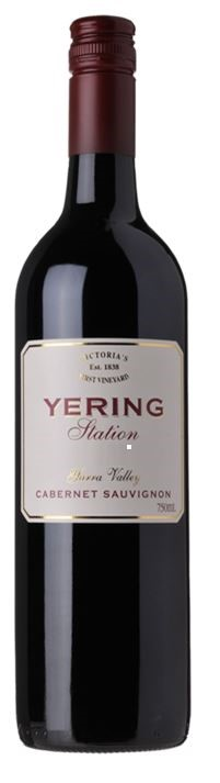 Yering Station `Estate ` Cabernet Sauvignon 2015 (6 x 750mL), Yarra Valley.