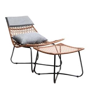 Artiss PE Wicker Outdoor Lounge Chair Se