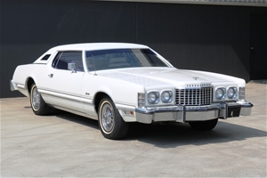 1975 Ford Thunderbird Hard Top Automatic 61105 Miles Indicated