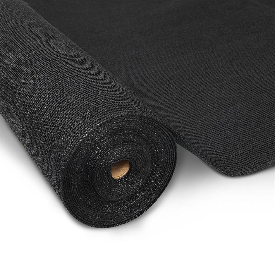 Instahut 1.83 x 10m Shade Sail Cloth - Black