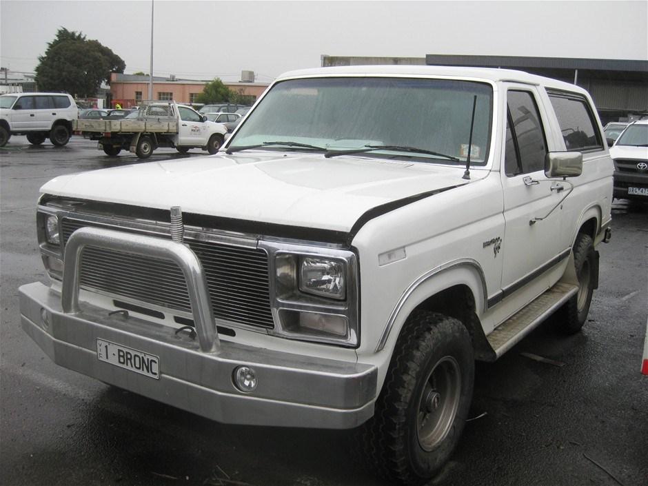 1982 Ford Bronco 4x4 Auction (0001-3001920) | GraysOnline ...