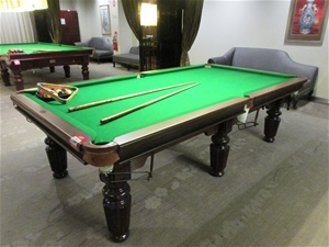 Sensational 1 X Sportivo Da Vinci Timber Pool Table Green Blazed Cloth Full Ball Set Beutiful Home Inspiration Xortanetmahrainfo