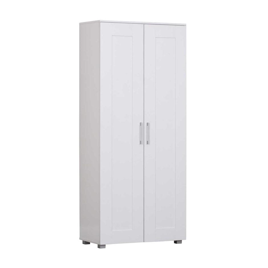 Montreal Multi-purpose Double Door Cupboard - White