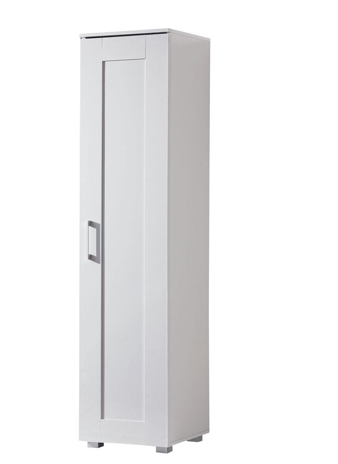 Montreal Single Door Multipurpose Cupboard - White