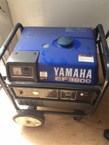 Yamaha ef3800 portable generator auction 0065 3014018 for Yamaha generator for sale