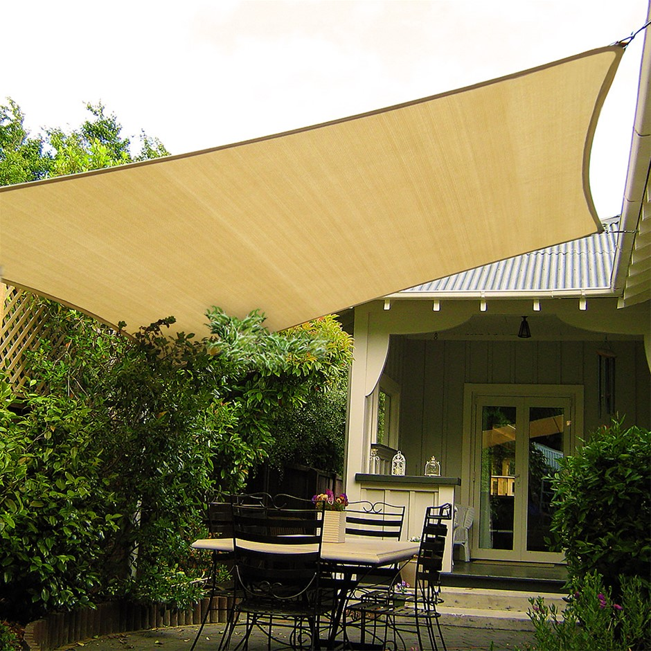 Wallaroo Shade Sail 3 x 5m Rectangle