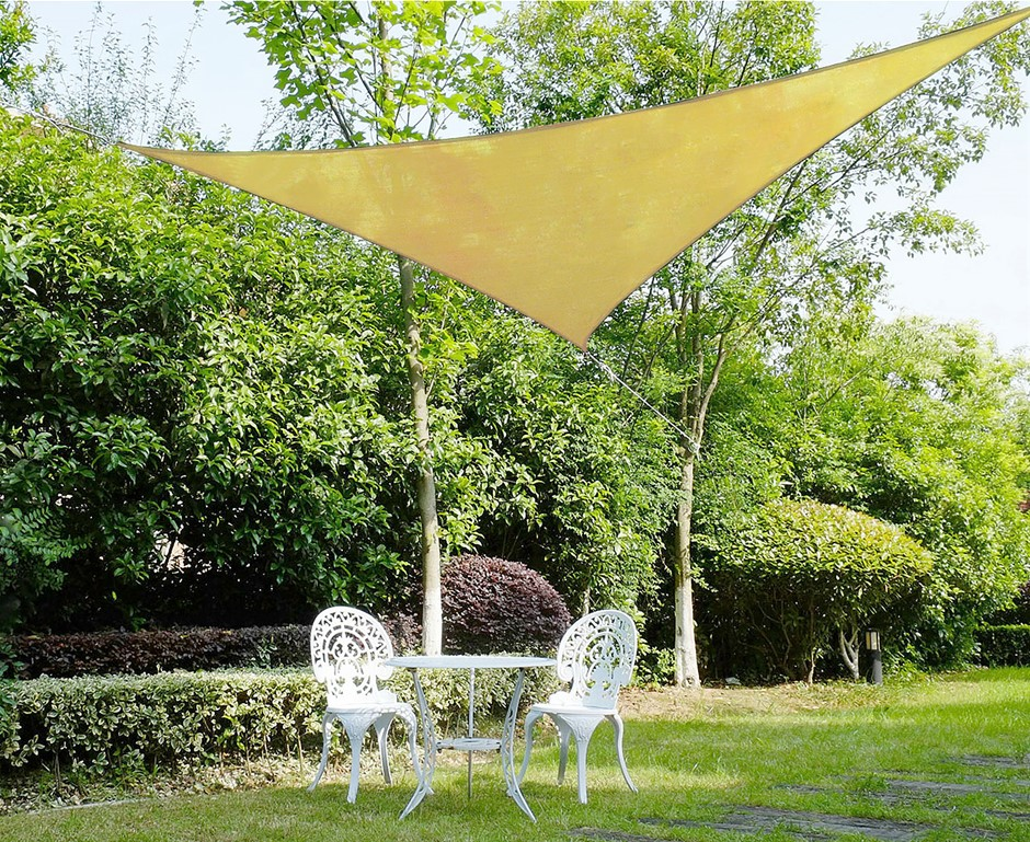 Wallaroo Shade Sail 5x5x5m Triangle