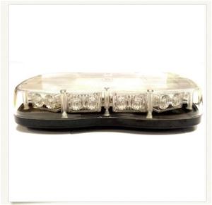 Slimline LED Warning Light CLEAR 12V & 2