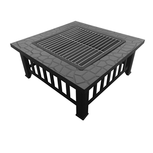 Buy Multifunctional Outdoor Grilling Table And Fire Pit - Grill table fire pit all in one