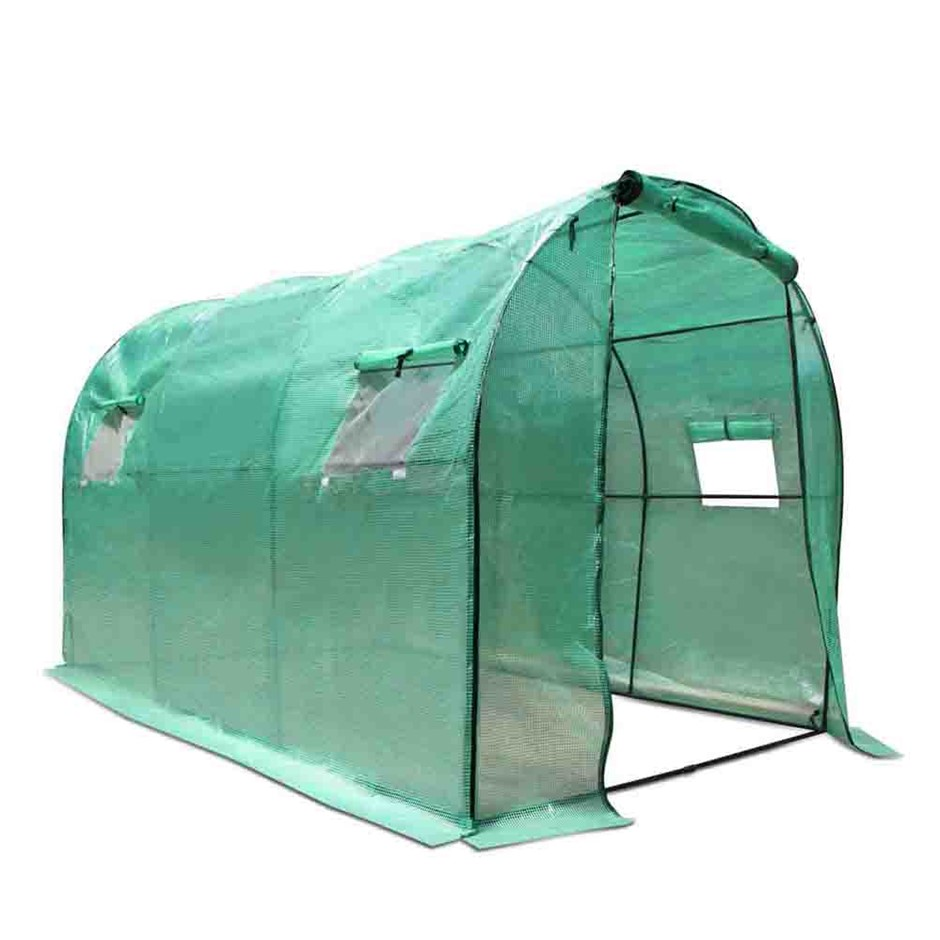 Greenfingers Greenhouse Garden Shed Green House 3X2X2M Greenhouses Storage