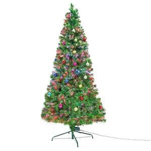 8Ft 240cm Fibre Optic LED Xmas Tree - BA