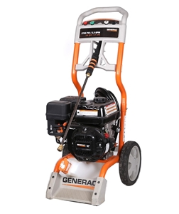 GENERAC 2700psi Pressure Washer with 196cc Petrol Engine on