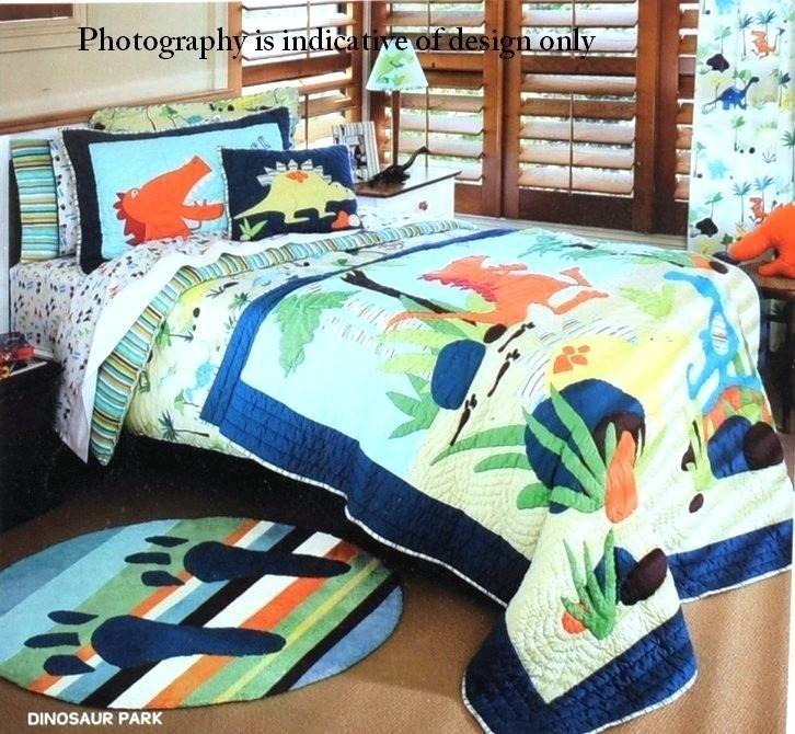 Buy Freckles Dinosaur Park Single Quilt Cover Set ...