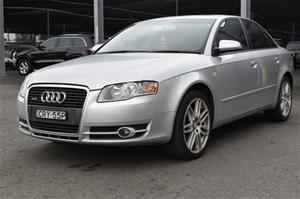Audi A T Quattro B Manual Sedan Auction - 2005 audi a4