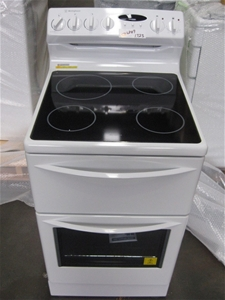 Westinghouse 540mm Fan Forced Oven Amp Stove Pak557w Auction