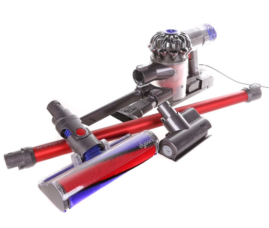 DYSON V6 Absolute Cordless Stick Vacuum Cleaner. N.B. Not in Original Box,