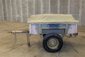 Single Axle Cargo Trailer Australian No.