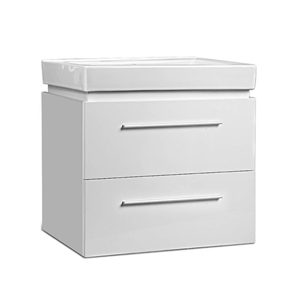 Cefito Ceramic Basic with Cabinet - Whit