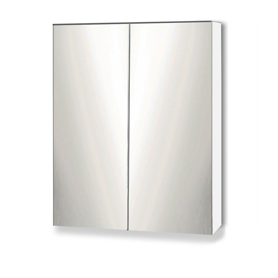 Cefito Bathroom Vanity Mirror With Storage Cavinet White