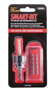6 x SMART-BIT #10 Pre-Drilling & Counter