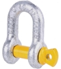 8 x Dee Shackles 10mm, WLL 1T, Grade S. Buyers Note - Discount Freight Rate