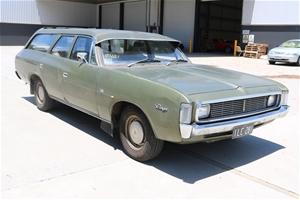 1972 Chrysler Valiant Ranger VH Manual Wagon, 80,004 miles indicated