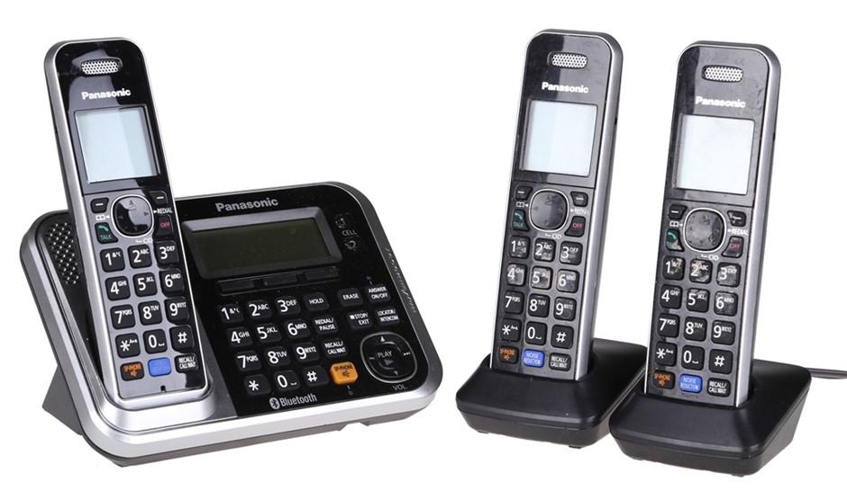 PANASONIC Digital Cordless Telephone, Model KX-TG7871AZ. N.B. Not in origin