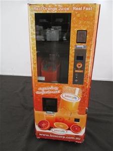 Aat Orange Fresh Orange Juice Vending Machine Auction 0023 7018660