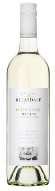 Bleasdale `Potts' Catch` Verdelho 2018 (6 x 750mL), Langhorne Creek, SA.