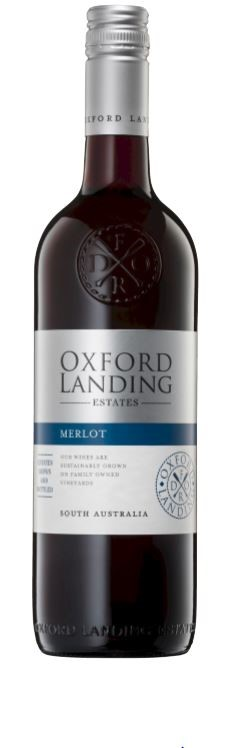 Oxford Landing Merlot 2017 (12 x 750mL), SA.