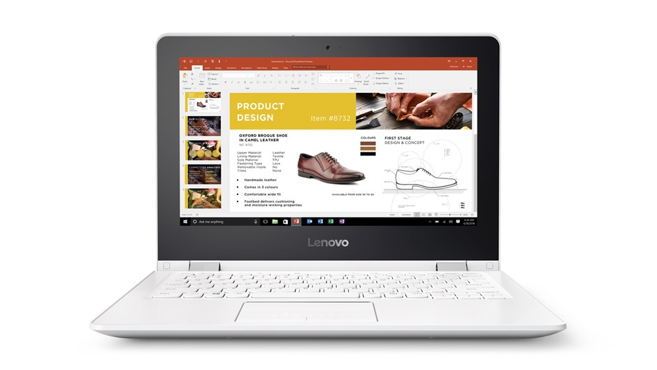 "Lenovo Yoga 300-11IBR 11.6"" WXGA/IntelP-N3700/4GB/500GB SATA/Intel HD"