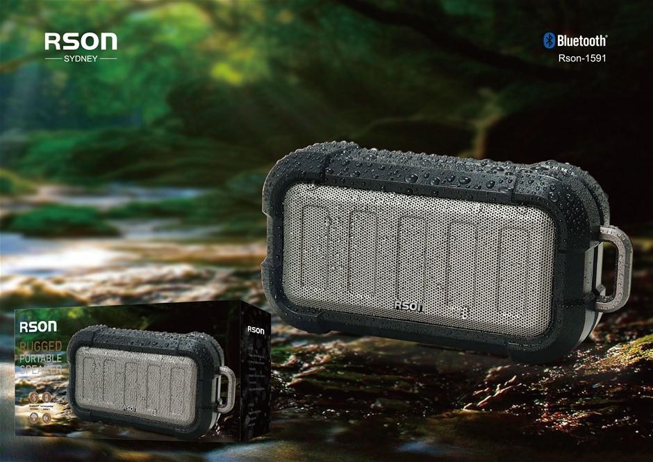 Rson Rugged Portable Bluetooth Speaker (1591)