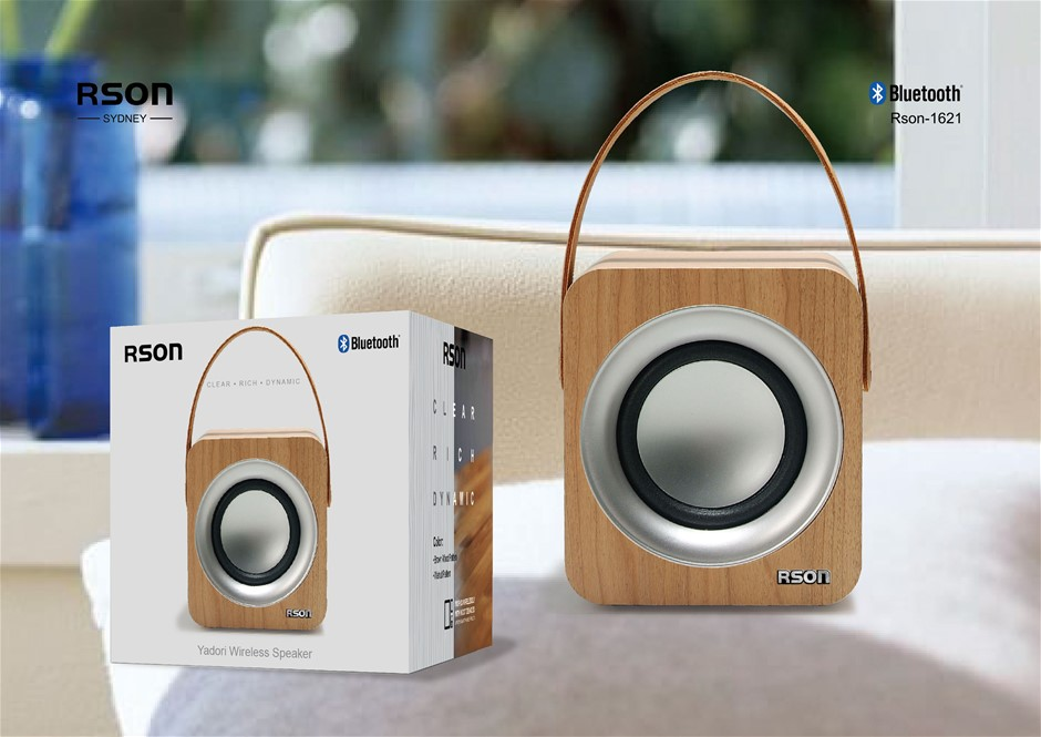 Rson Yadori Walnut Bluetooth Speaker (1621)