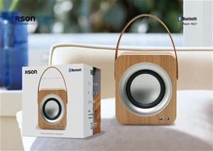 Rson Yadori Walnut Bluetooth Speaker (16