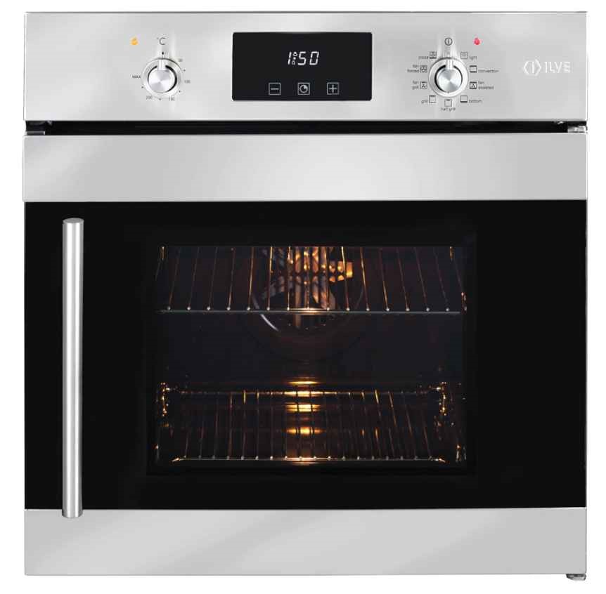 ILVE 60cm Built-in Multifunction Electric Oven (ILO69SX)