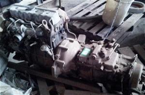 Nissan Diesel Engine with Gear Box, 4 cylinder unit, Model ED 33 ...