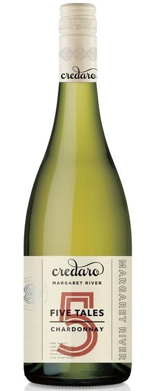 Credaro Five Tales Chardonnay 2017 (12x 750ml), WA